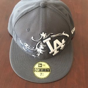 LA logo New Era baseball cap